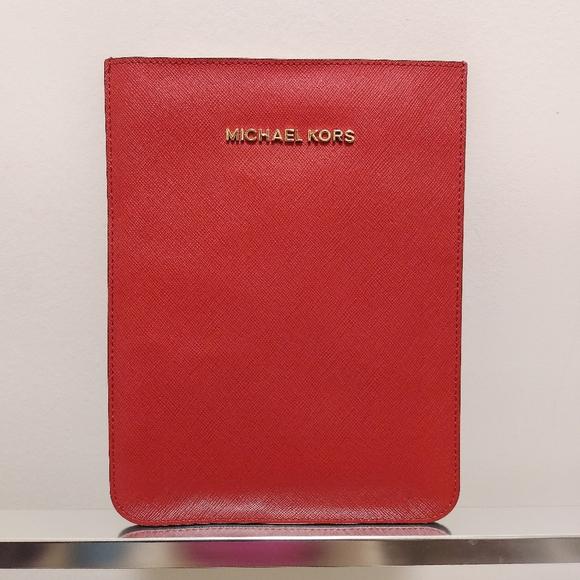Michael Kors Mini Ipad Leather Case